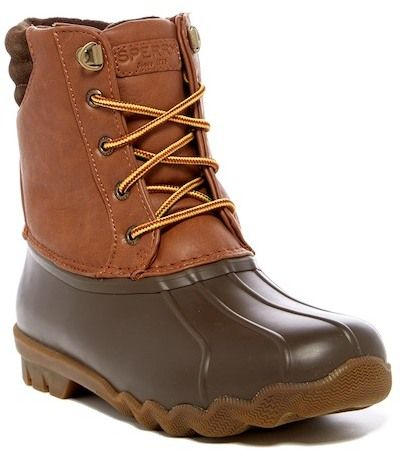 Sperry Avenue Waterproof Rubber Duck Boot (Little Kid & Big Kid)