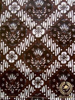 Jogja Batik Fabric - Parang Gurdo Kembang