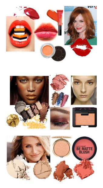 """Warm Spring Makeup"" by stylist-vera on Polyvore featuring coloranalysis, warmspring, springmakeup, type1, beauty, Pat McGrath, Kenzo, Lancôme, MAC Cosmetics and Estelle & Thild"