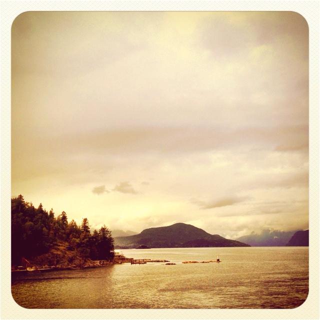 On to Bowen Island