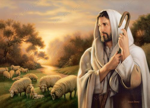 The Lord is my shepherd; I shall not want. He maketh me to lie down in green pastures: he leadeth me beside the still waters. ~ Psalms 23:1-2 The enduring image of Christ as our shepherd has been portrayed in countless ways throughout history. I...