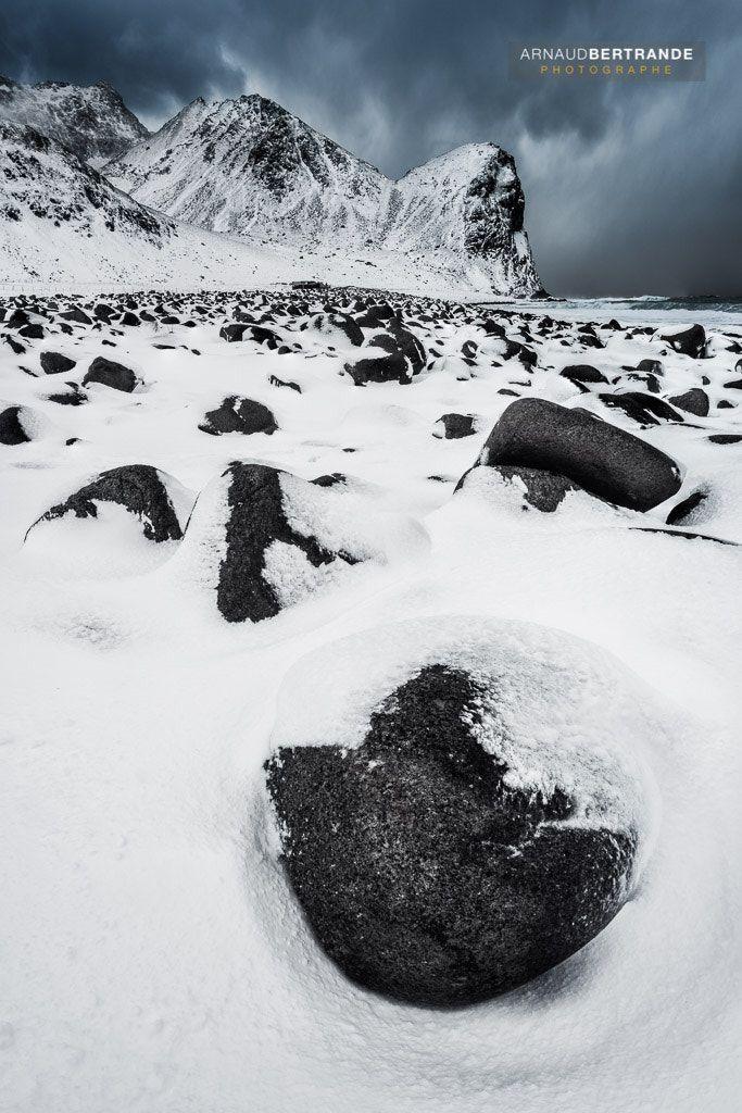 Plage de Unstad - http://www.abertrande.com/portfolio/norvege/