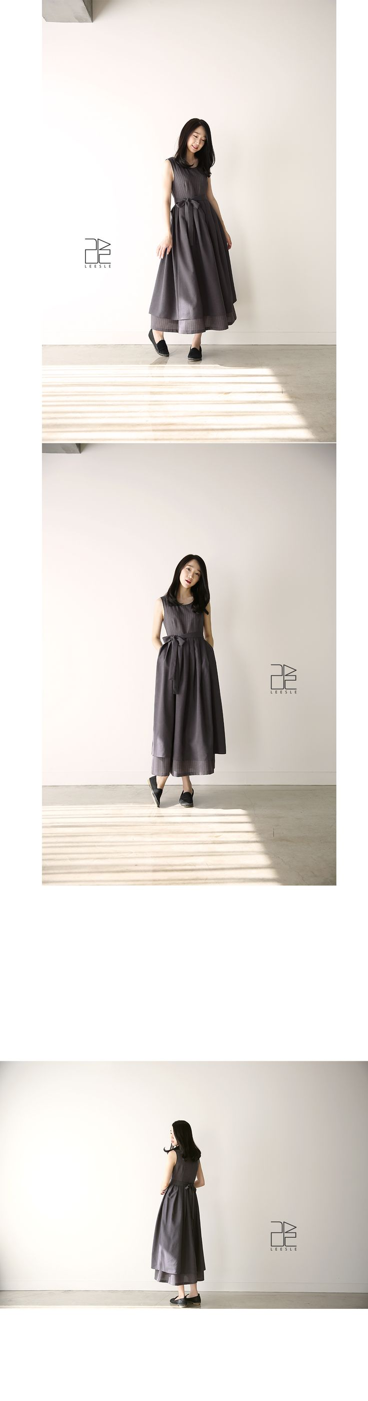 Leesle Korea Seuran Dress in Cacao