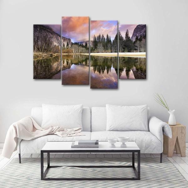 Yosemite National Park Multi Panel Canvas Wall Art Large Wall Canvas Canvas Wall Art Multi Panel Canvas