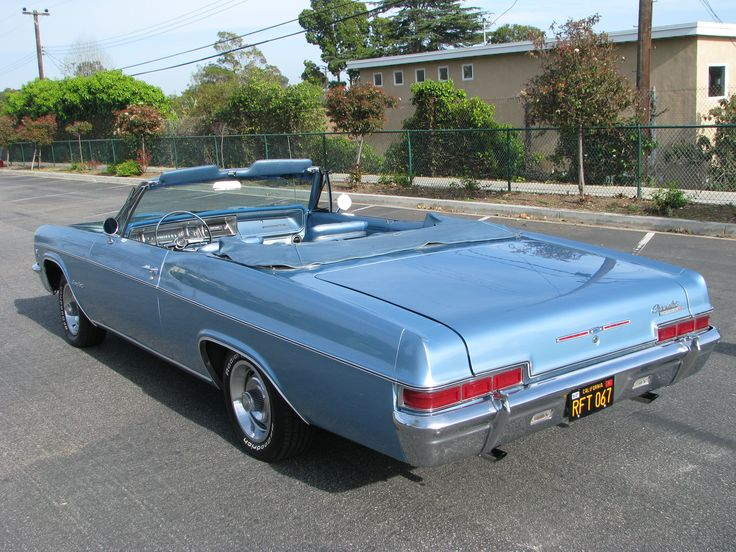 1966 Chevrolet SS396 Impala Convertible Classic Muscle Car  Low