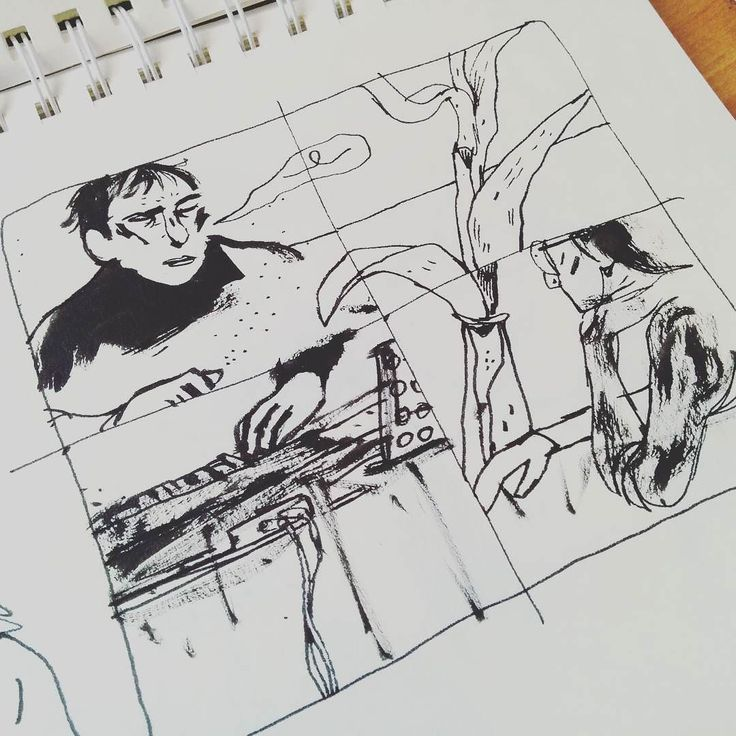 Comicschräge #panel #vierer #four #plant #piano  ___ #illustration #art #artist #instaart #dailyart #artoftheday #doodleartist #pen #pencil #drawing #drawings #sketch #scribble #picoftheday #sketchbook #doodle #kunst #dessin #dibujo #newartwork #instadaily