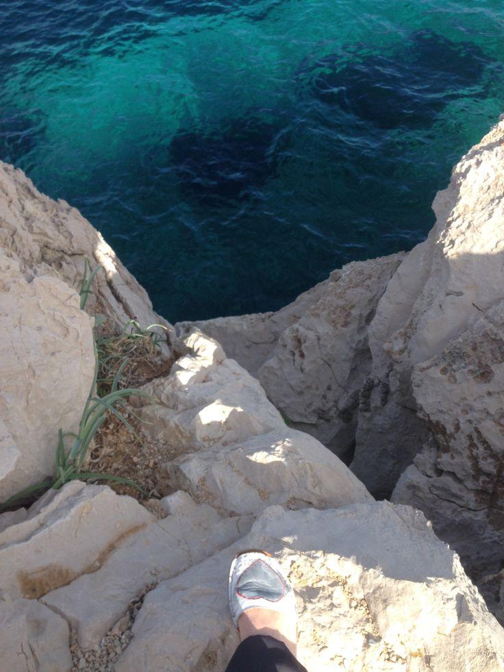 Pisando fuerte en Cala Ratjada, Mallorca
