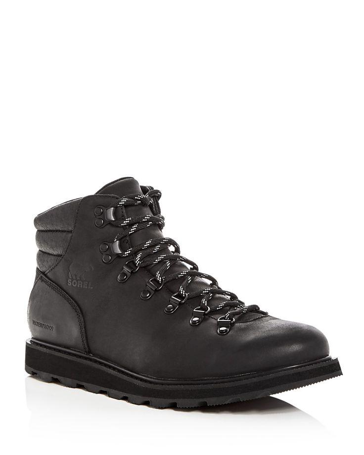 SOREL Sorel Men's Madson Hiker Waterproof Leather Lace Up Boots. #sorel #shoes #