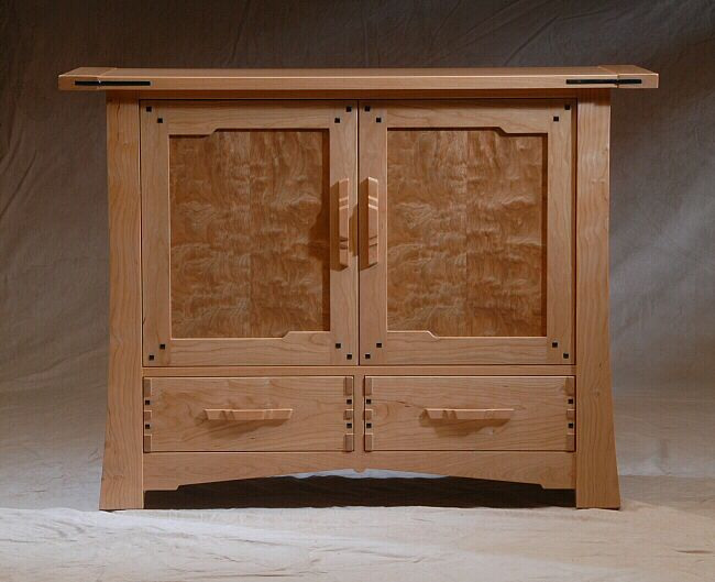 Greene Media Cabinet And Furniture In 2019 Craftsman Style