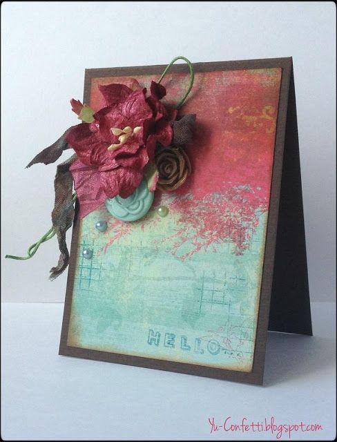 Confetti : mini card