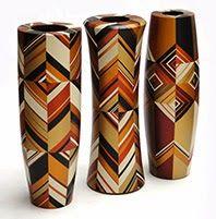 Geometric Vases collection - Pasto Varnish - Made by industrial designer William Obando