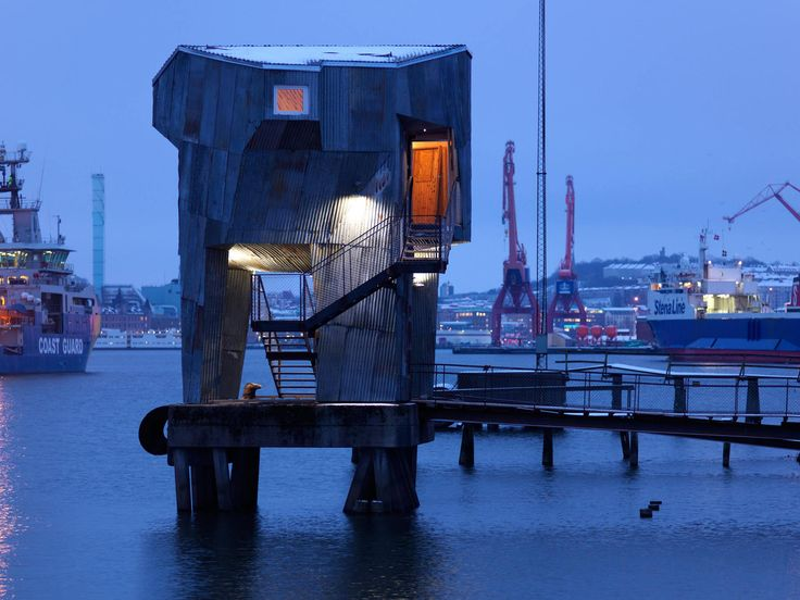 The Public Sauna on the Docks in Gothenburg, Sweden | Gessato Blog