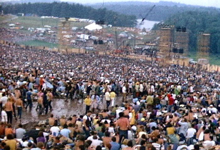 Woodstock  Friday August 15th, Saturday August 16th, and Sunday August 17th  1969