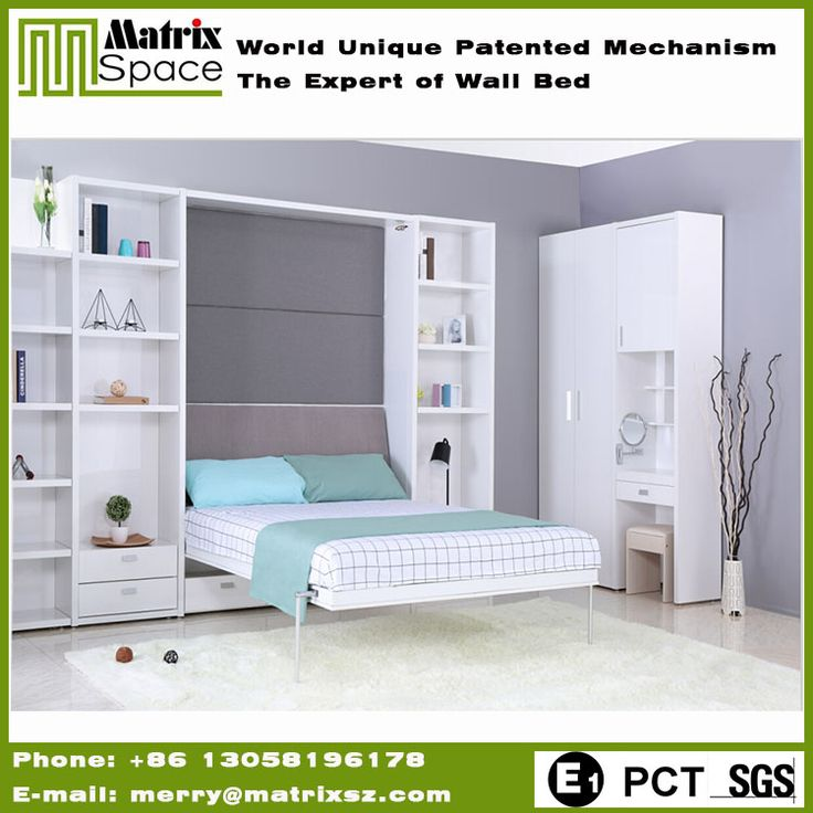 Source Double Wall Bed Modern Transformable Bedroom Space Saving Furniture Folding Bed Murphy Hidden Wall Bed on m.alibaba.com