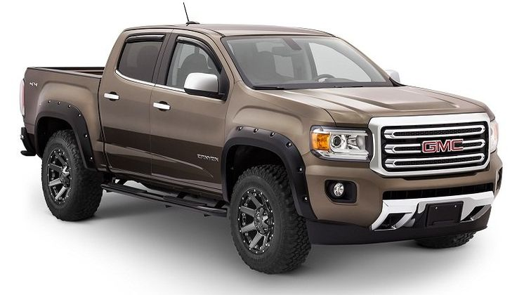 Bushwacker fender flares for GMC Canyon 2015-2016 - Chevy Colorado & GMC Canyon