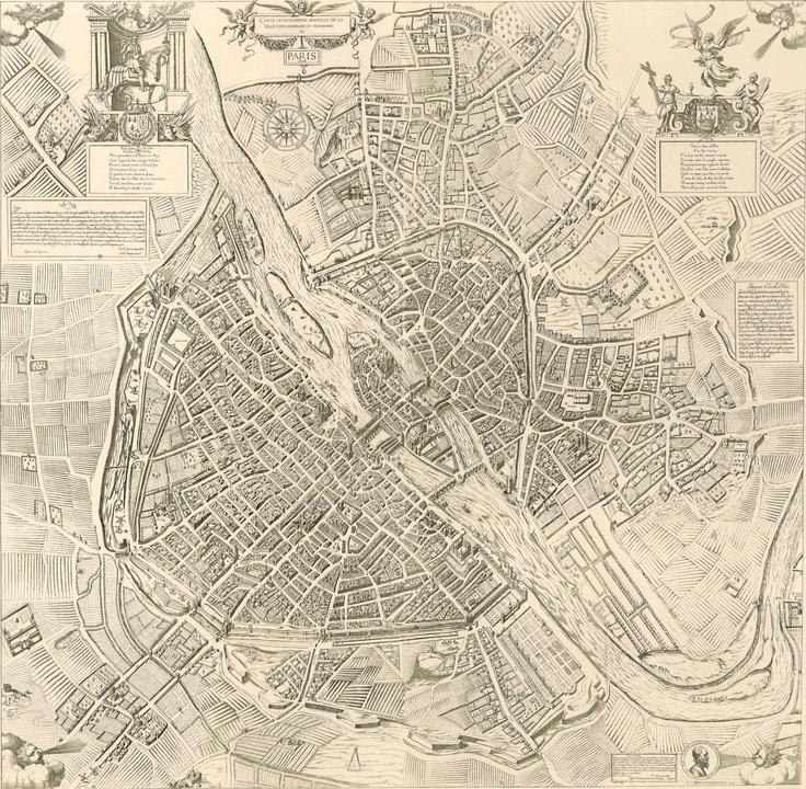 L'histoire de Paris par ses plans