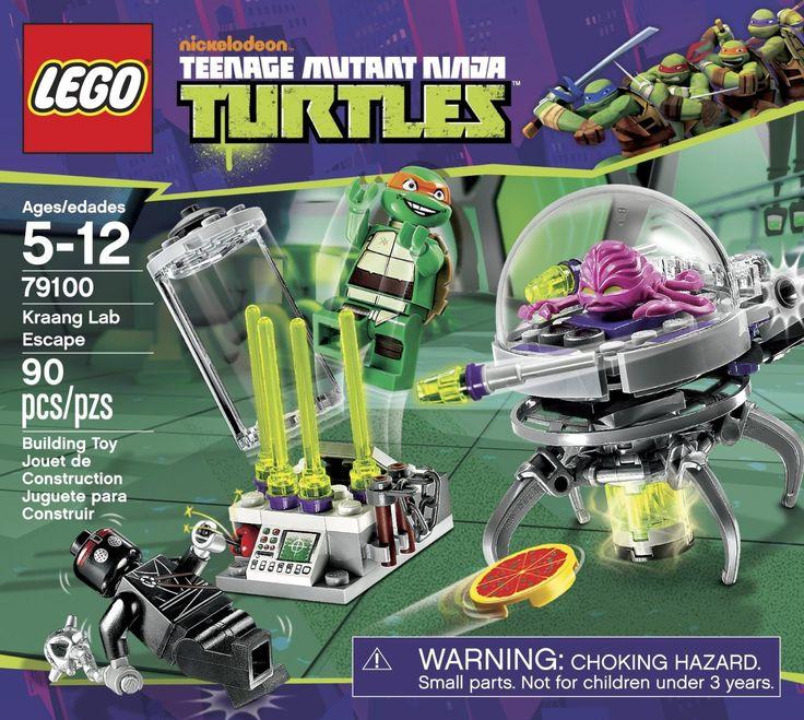 LEGO Teenage Mutant Ninja Turtles 79100 Kraang Lab Escape - Michaelangelo, Kraang & Foot Soldier