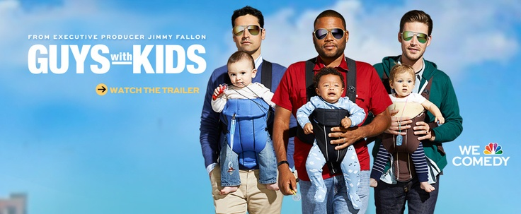 ***CAncelled***Guys With Kids - NBC.  Premieres Sept 26, 2012  television series created by Jimmy Fallon and Charlie Grandy, developed by Jimmy Fallon, starring Anthony Anderson, Jesse Bradford, Zach Cregger, Jamie-Lynn Sigler, Tempestt Bledsoe, and Erinn Hayes.