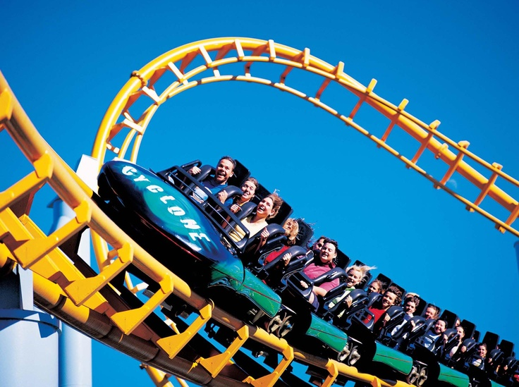 The Cyclone, is one of the tallest, high-speed gravity rollercoaster's in the Southern Hemisphere.