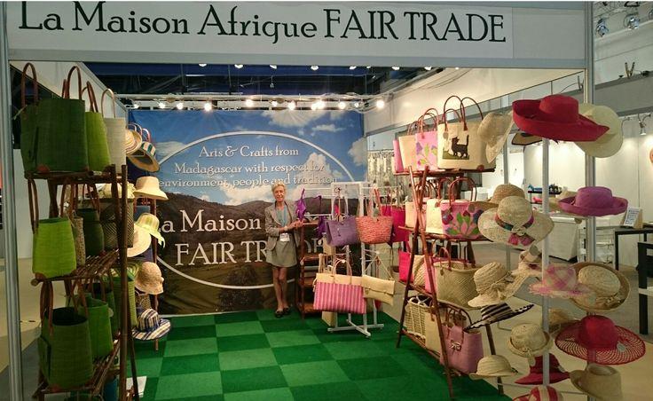 Formex Stockholm exhibitor La Maison Afrique FAIR TRADE #Formex #Fairtrade #crafts