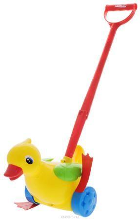 """Stellar Игрушка-каталка Уточка цвет желтый  — 544р. ------------ Яркая игрушка-каталка Stellar """"Уточка"""" непременно понравится вашему малышу и подойдет для игры, как дома, так и на свежем воздухе. Игрушка выполнена из прочного и безопасного полипропилена в виде симпатичной утки на колесиках. Уточка порадует малыша своим веселым видом и крылышками, которые будут двигаться, когда малыш будет ее катать. Игрушка-каталка Stellar """"Уточка"""" развивает пространственное мышление, цветовое восприятие…"""