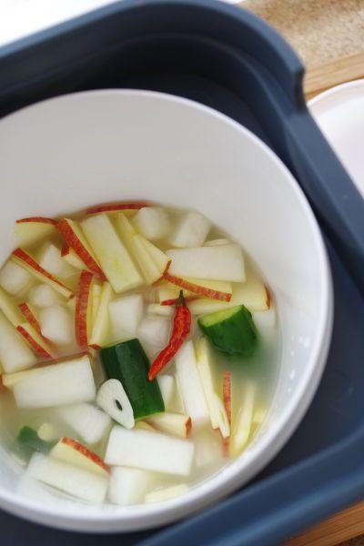 さわやか発酵♪水キムチ by 清水えり   レシピサイト「Nadia   ナディア」プロの料理を無料で検索