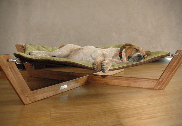 adorable! (via Bamboo Hammock Dog Bed » Design You Trust – Design Blog and Community) I love this!