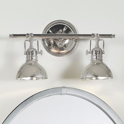 So cool - think I just found my powder room light!