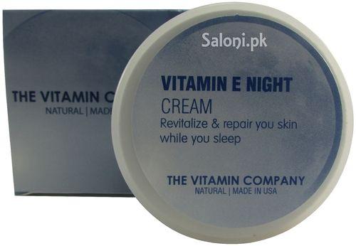 The Vitamin Company Vitamin E Night Cream 40 Grams