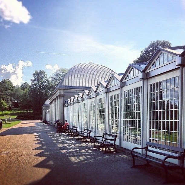 Paxton Pavilions in Botanical Gardens (photo by @joshkilby on IG) #socialsheffield #sheffield