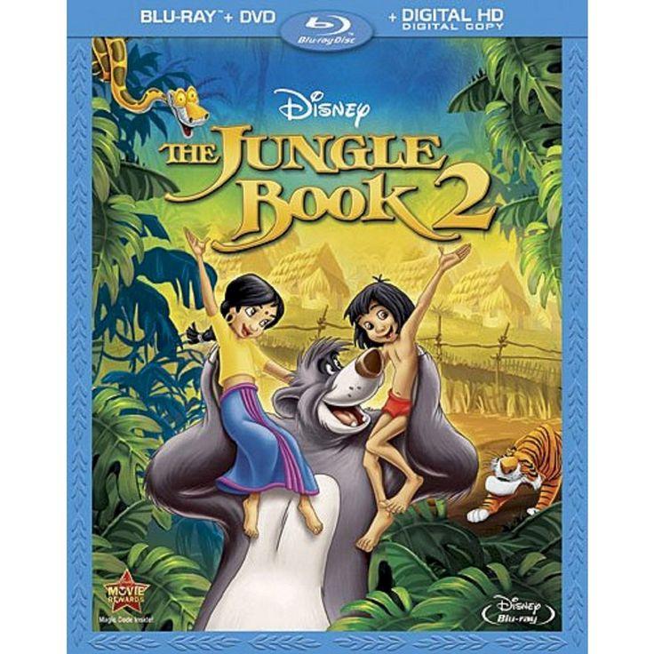 The Jungle Book 2 [2 Discs] [Blu-ray/DVD]