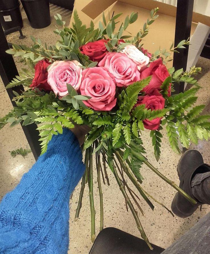 Røde og rosa roser... 2/2