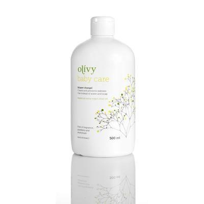 Olivy Baby care til bleskift - 500ml