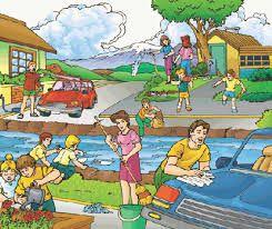 Resultado de imagen para imagenes de como evitar la contaminacion del medio ambiente para niños para colorear