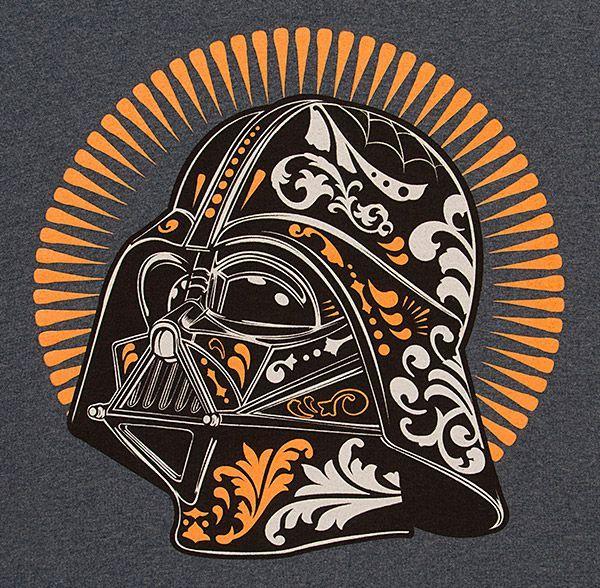 Dia De Los Vader T-Shirt T-Shirt - Darth Vader T-Shirt