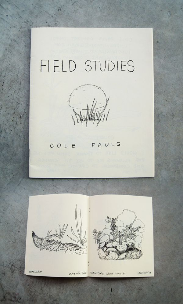 Field Studies / Cole Pauls, 2014.