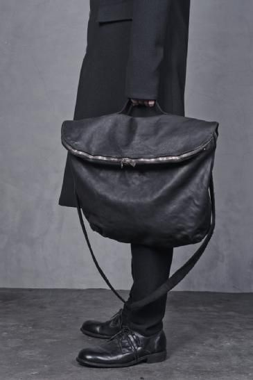 ANCHORET GUIDI - AW13 M10 SOFT HORSE LEATHER BAG W/ SHOULDER STRAP