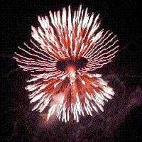 Moving Fireworks | animated fireworks photo: fireworks 1 fireworks2k.gif