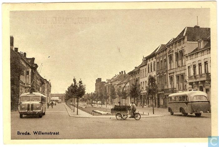 Breda - Willemstraat - 1956.