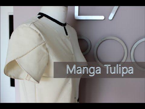 Como modelar e costurar manga tulipa