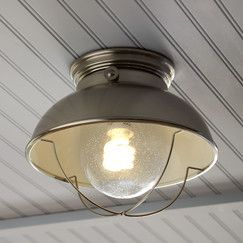 Audrey Indoor/Outdoor Semi-Flush Mount