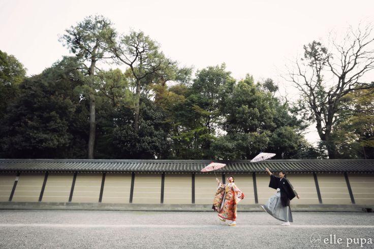 有名なご近所さんにて前撮り  *ウェディングフォト elle pupa blog* Ameba (アメーバ)