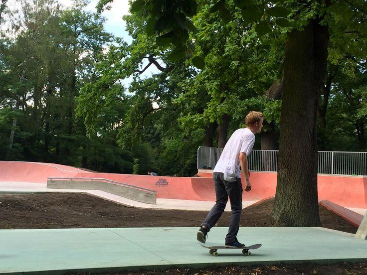 Wzloty i upadki, czyli nowy skate park w Parku Jordana