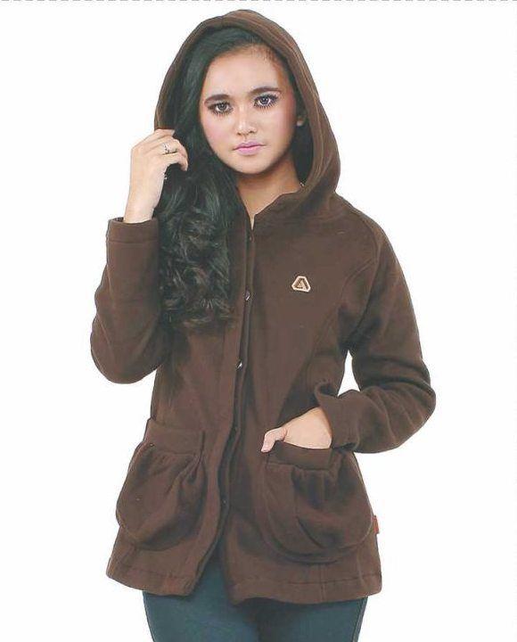 Mantel Hoodie Wanita Brown Polar memang sengaja kami rancang dengan desain yang sangat cocok bagi wanita yang ingin bepergian ke tempat tempat yang bercuaca dingin #Jaket #Cewek #Sweater #Mantel #Hoodie #Women's fashion