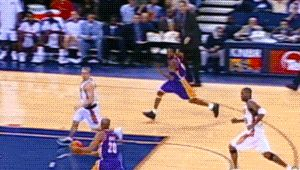 Brian Shaw and Kobe Bryant — Los Angeles Lakers