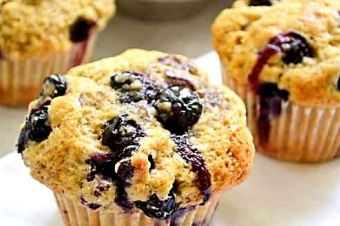 Blue Berry Muffin at TEO, 1206 W 38th St, Austin http://goo.gl/vOPmoH