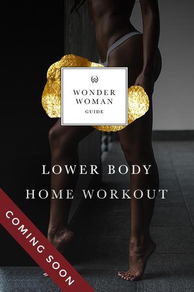 Wonder Woman Lower Body Workout Guide