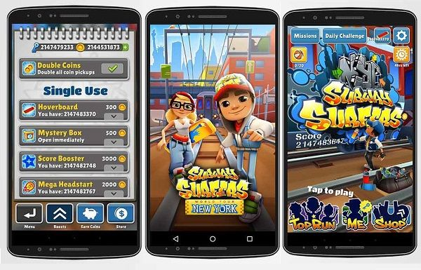 Subway Surfers NYC New York USA Modded Apk Download  Subway Surfers 1.44.1 apk Modded NewYork NYC USA Unlimited Keys Coins Unlocked Characters Skateboards 3 Third Three surf v44 Direct Download Latest Version v1.44.1 without ads free How to Hack Cheat adfree remove 44 android game mediafire zippyshare.  What's New: ★ Minor improvements and... http://freenetdownload.com/subway-surfers-nyc-new-york-usa-modded-apk-download/