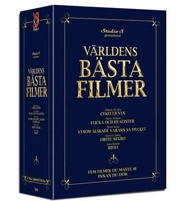 Världens bästa filmer - Boxset (5 disc) (Import - No.Tekst)