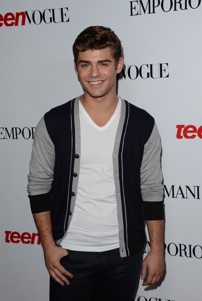 garrett clayton | Garrett Clayton - Teen Vogue's 10th Anniversary Annual Young Hollywood ...